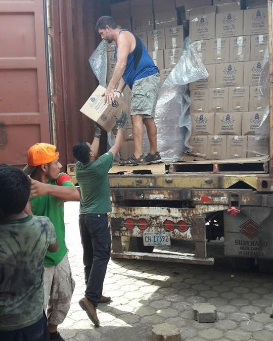 Supplying Food & Clothing